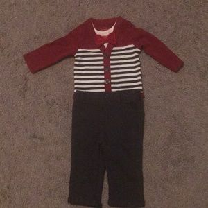 Baby Boys' Bowtie Jersey and Pants Set. Cat & Jack